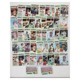 1977 Topps St Louis Cardinals Lot
