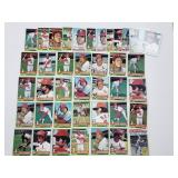 1976 Topps St Louis Cardinals Lot
