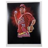 Derian Gonzalez STL Cardinals Digital Art Print