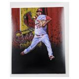 Angel Rondon St Louis Cardinals Digital Art Print