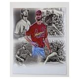 John Gant St Louis Cardinals Digital Art Print