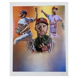 John Brebbia St Louis Cardinals Digital Art Print