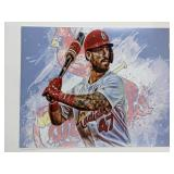 Rangel Ravelo St Louis Cardinals Digital Art Print