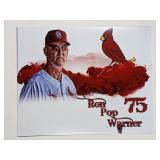Ron Pop Warner STL Cardinals Digital Art Print