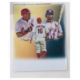 Ray Lankford St Louis Cardinals Digital Art Print