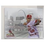 Joe Kelly St Louis Cardinals Digital Art Print