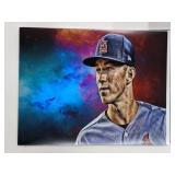 Tommy Edman St Louis Cardinals Digital Art Print
