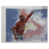 Kolten Wong St Louis Cardinals Digital Art Print