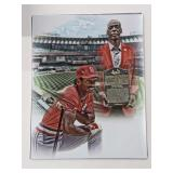 Willie McGee St Louis Cardinals Digital Art Print