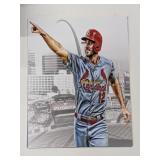 Jordan Hicks St Louis Cardinals Digital Art Print