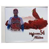 Malcom Nunez St Louis Cardinals Digital Art Print