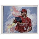 Austin Gomber St Louis Cardinals Digital Art Print