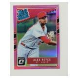 2017 Optic Rated Rookie Pink Alex Reyes RC
