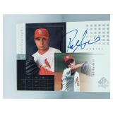 2000 SP Authentic Rick Ankiel Signed Card #RA