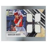 2017 Elite Extra Edition Harrison Bader Quad Relic