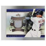 2007 Upper Deck Game Materials Carlos Beltran