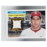 2012 Topps Lance Berkman Game Used Jersey Relic