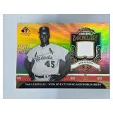 2006 SP Legendary Baseball Chronology Bob Gibson
