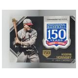 /150 2019 Topps 150 Year Patch Rogers Hornsby