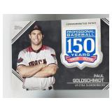2019 Topps 150 Year Patch Paul Goldschmidt D-Backs