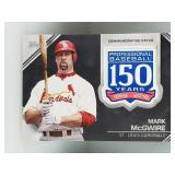 2019 Topps 150 Year Patch Mark McGwire