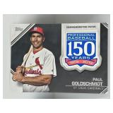 2019 Topps 150 Year Patch Paul Goldschmidt Cards