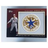 2010 1941 All Star Game Comm. Patch Johnny Mize
