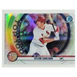 2020 Bowman Chrome Scouts Top 100 Dylan Carlson RC