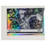 2019 Topps Chrome Negative Refractor Dakota Hudson