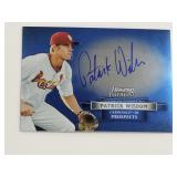 2012 Bowman Sterling Patrick Wisdom Signed Card