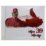 Miles Mikolas St Louis Cardinals Digital Art Print
