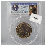 PCGS 2007-P MS65 Washington $1 Dollar