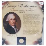 Washington $1 Dollar Coin & Postal Comm Page