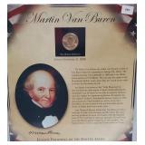 Van Buren $1 Dollar Coin & Postal Comm Page