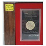 1974-S 40% Silver Proof Ike $1 Dollar