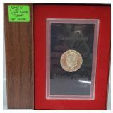 1972-S 40% Silver Proof Ike $1 Dollar