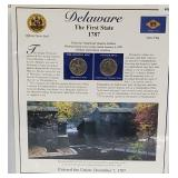 DE Statehood Quarter & Postal Commemorative Page