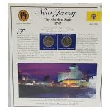 NJ Statehood Quarter & Postal Commemorative Page