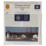 CT Statehood Quarter & Postal Commemorative Page