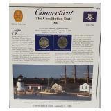 CT Statehood Quarter & Postal Commemorative Page