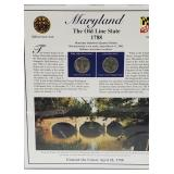MD Statehood Quarter & Postal Commemorative Page