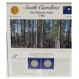 SC Statehood Quarter & Postal Commemorative Page
