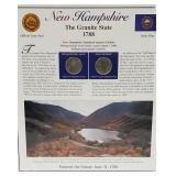 NH Statehood Quarter & Postal Commemorative Page