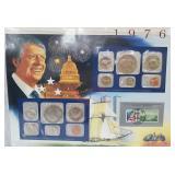 1976 US Mint UNC Sets & Postal Comm Page