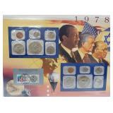 1978 US Mint UNC Sets & Postal Comm Page