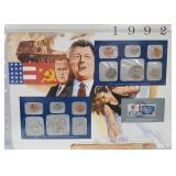 1992 US Mint UNC Sets & Postal Comm Page