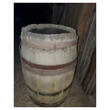 Wood Barrel #2