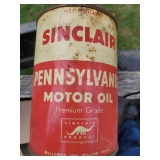 Sinclair Pennsylvania Motor Oil Can