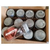 Full New in Box Zink Lid Ball Jars