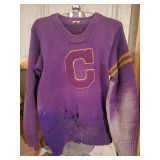 Vintage School Varsity Letterman Sweater